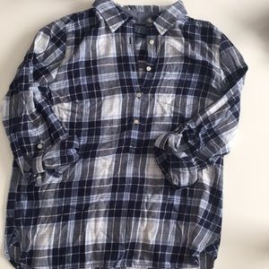 Tommy Hilfiger Pullover Flannel Shirt